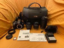 Nikon D3400 24.2 MP Digital SLR Camera - Black - Full Kit - Ready To Shoot