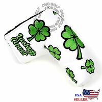 Lucky Clover Putter Cover Magnetic For Scotty Cameron Taylormade Odyssey Blade