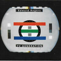 Edward Rogers TV Generation CD Zip Records 2017 NEW