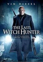 THE LAST WITCH HUNTER NEW DVD