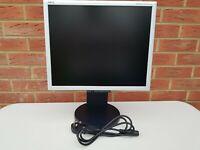 "NEC 19"" inch NEC MultiSync LCD1970NXp. DVI, VGA D-SUB. Display diagonal: 48.3 cm"