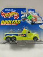 Hot Wheels Haulers Over the Road Power Neon Green/Yellow Truck