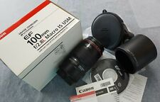 Canon EF 100mm f2.8 L IS Macro USM Great condition!