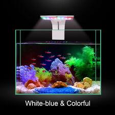 Clip On LED Aquarium Light Reef Coral Fish Tank Lighting 5730 Blue White RGB