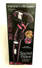 Conair InfinitiPro Secret Wave Hair Style Rotation Curling Iron - Purple