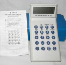 NEW TIP TOUCH CALCULATOR ALARM TIME CALENDAR