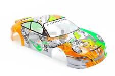 RCG Racing Porsche 911 Turbo 1/10th RC Car Body Shell Green 190mm S024G