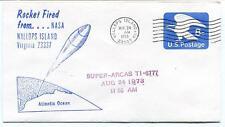 1973 Wallops Island ROCKET FIRED Super Arcas TI-6777 WFF Goddard Base NASA