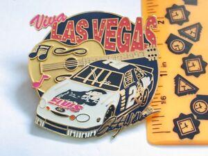 Las Vegas Speedway Racing Pin, Elvis Presley Guitar Rusty Wallace #2 Ford