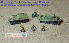 GERMAN 1:100 1:144 Scale WARGAME DIORAMA SOLDIER PANZER GRENADIERS FIGURE S239
