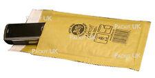 JIFFY Bags 5 JL000 Gold Padded Envelopes 100 x 150mm AR01