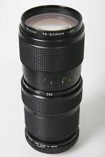 Vivitar 75-205mm f/3.8 Telephoto Zoom Lens. Nikon AI Mount - manual focus