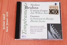 Nicolaus Bruhns - L'oeuvre d'orgue  Cantates - Jansen - Gester - CD Radio France