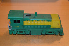 MARX TRAINS #702 GREEN WESTERN PACIFIC GE 70-TON SWITCHER 799 - RUNS WELL
