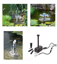 12 Volt Solar Ersatzpumpe Solarpumpe Teichpumpe Gartenpumpe Trockenlaufschutz