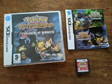 Nintendo DS Pokemon Mystery Dungeon Explorers of Darkness with box, manual, game