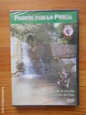 DVD PASION POR LA PESCA - PESCA DE LA TRUCHA - PESCA EN EL PANTANO DE FOIX (EJ)
