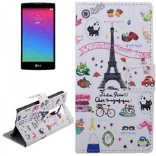 Cover Pattern 42 for LG Spirit C70 H420 Book cover Case Wallet