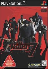 Used PS2 CAPCOM Killer 7 SONY PLAYSTATION JAPAN IMPORT