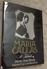 Maria Callas, a Tribute by Pierre-Jean Remy and Pierre-Jean Râemy (1978, Book, …