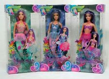 3 DOLL SET Barbie Fairytopia Mermaidia Pack ~ NORI + MERISSA + SHELLA ~ NEW