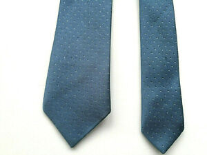 C & A HANDMADE DOT PATTERN TIE POLYESTER 140cm/50inches IN LENGT MADE IN IRELAND