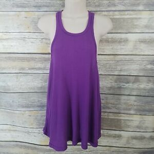 Free People Intimately NWT Size M Beach Tank Violet Ribbed Racerback