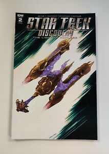 IDW: STAR TREK DISCOVERY THE LIGHT OF KAHLESS #2: NM CON. : 1:25 RI-B COVER