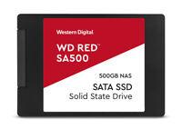 WD Red SA500 NAS SATA SSD WDS500G1R0A 500GB intern 2.5 (6.4 cm) ~D~
