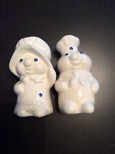 Pilsbury Doughboy Poppin & Poppie Fresh Salt And Pepper Shakers