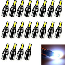 20X T10 194 168 CANBUS LED License Plate Interior Wedge Light Bulbs Bright White