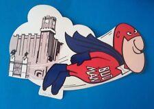 ~VINTAGE~ - BUDWEISER - BUD MAN (SPER/FLYING BUD MAN) STICKER - NEW - 1972 (C.)
