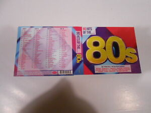 80 HITS OF THE 80s-4  CD DIGIPAK-AUSTRALIA-2015-NEW ORDER-DURAN DURAN-BLANCMANGE