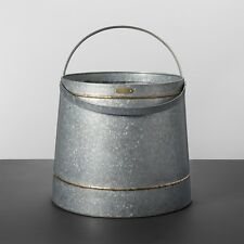 Round Galvanized Storage Bin - Hearth & Hand™ with Magnolia