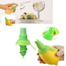 1x Zitrone Orange Spray Saftpresse Zitronenpresse Küche Entsafter Haushalt R16