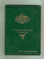 1982 AUSTRALIAN MINT COIN SET - COMMONWEALTH GAMES