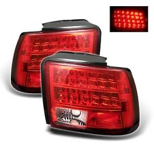 Spyder Auto Ford Mustang 99-04 LED Tail Lights - Red Clear ALT-YD-FM99-LED-RC
