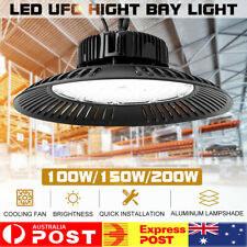 New 150/200W UFO LED High Bay Lights Engineering Industry Lamp Factory Workshop