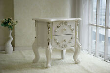Brand New Bedside Table French Provincial Ivory White Classic Drawer Nightstand