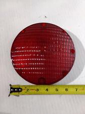 """weldon no. 1010  7"""" round red brake lens amtran bus"""