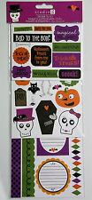 3 Sheets assorted  Halloween Stickers Hampton Art / Studio G NIP