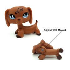 DACHSHUND #640 Littlest Pet Shop dog toys LPS sausage Diamond Eyes