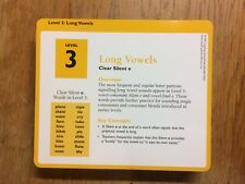 Leapfrog School House Level 3 Long Vowels Leapcards for Leapdesk