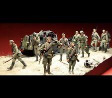 "1:35 ""10 Soviet Soldiers"" Resin Figure Model Unassambled Unpainted (JUST FIGS)"