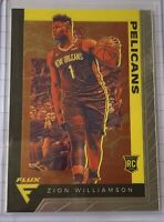 Panini Chronicles ZION WILLIAMSON Flux Rookie Card #584 RC Pelicans 🔥