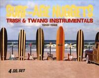 SURF-AGE NUGGETS: TRASH & TWANG INSTRUMENTALS 1959-1966 NEW CD