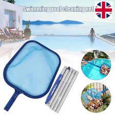Swimming pool salvage net Pool Landing cleaner with Aluminium Telescopic Pole.