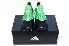buy online cfa27 f6c69 Adidas ACE 17.1 Cuero FG US7.5 Negro Verde Lea BB4322 Predator 18.1 X