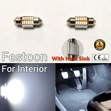 Festoon 31mm Dome Roof Light 6K LED Bulb Heat Sink DE3175 DE3022 DE3021 M1 MA