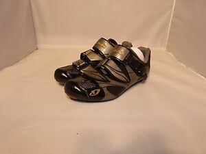 Giro Espada Women's Road Cycling Shoes Charcoal/Titanium 3 bolt cleats NEW!
